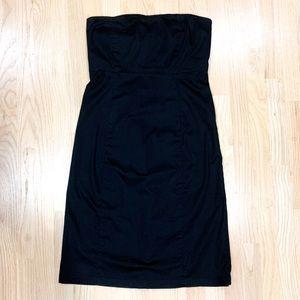 Gap Black Strapless Dress in 12
